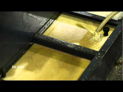 Ari Makina / CNC tezgahlari icin bor yagi filtreleme makinesi Video 2