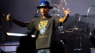Pharrell Williams - Marilyn Monroe Live @ Zénith, Paris, 2014 HD