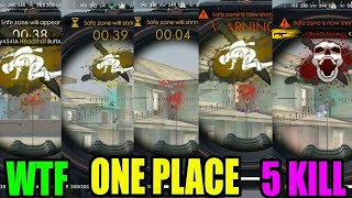 WTF One place 6 kill || Rank match pro tips and tricks|| Run gaming Tamil