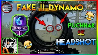 FAKE DYNAMO Latest Video🔴 || Puchhak Se HEADSHOT😂🤪 || Highlight #30