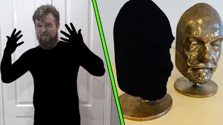 I painted my whole body with the worlds blackest paint and this is what happened