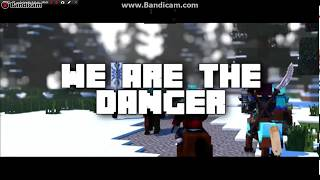 We Are danger-A Minecraft Original music video