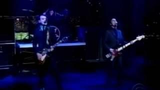 Alkaline Trio - All On Black (Live On Letterman)