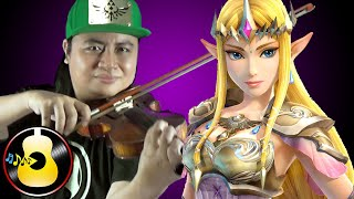 Legend of Zelda: Majora's Mask - Song of Healing (Violin & Guitar Cover) || String Player Gamer