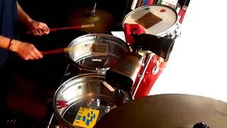 Marcos da Costa ft Vanesa Britos-Chantaje-Cover timbales-Agustín Martínez