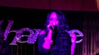 Shanice Wilson Sings Whitney Tribute @ Stevie's - Studio Q