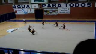 Oleza senior regional de conjuntos de 2010