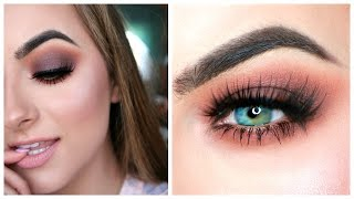 Brown Smokey Eye Tutorial Ft. Ofra x NikkieTutorials Collab | HUGE GIVEAWAY