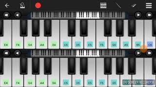Suroor - bilal saeed ft. Neha kakkar (piano cover) easy to learn