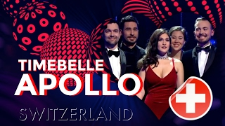 Timebelle - Apollo (lyric video) - Eurovision Song Contest 2017 SWITZERLAND