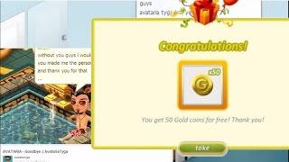AVATARIA - FREE 50 GOLD, Tyga & Drake leaves youtube, no event 2017?