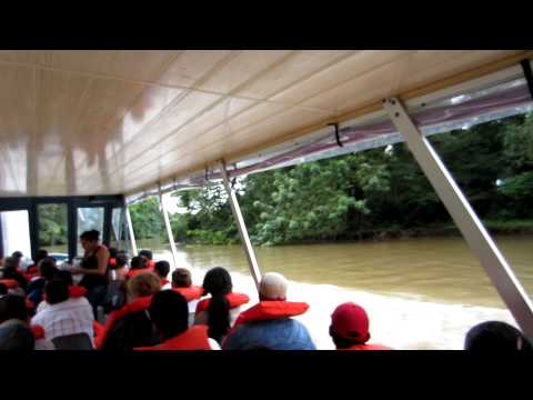 Costa Rica, Los Chiles to San Carlos, Nicaragua Border Crossing by boat