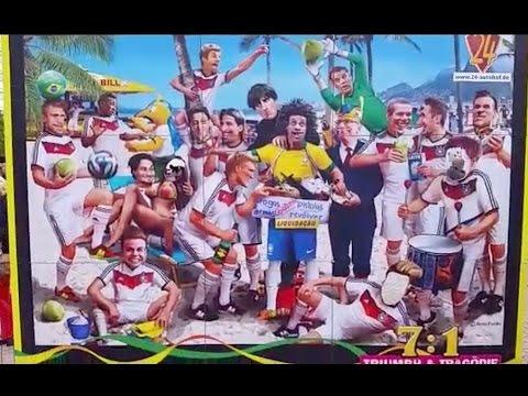 Sátira alemã vai além dos 7 x 1 e mostra desrespeito ao povo brasileiro