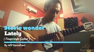 stevie wonder - Lately ( Guitar Cover )