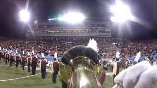 POV: Maroon and Gold -Halftime 2011 Euph Cam - ASU vs. Boise St. @ Maaco Bowl