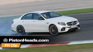 Mercedes-AMG E63 S 4Matic+   Drift Mode demonstration   PH Clip