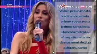 Rada Manojlovic - TekStonski poremecaj - Ami G Show - (TV Pink 14.06.2016.)