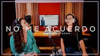 No Me Acuerdo - Thalia ft. Nata Natasha (Cover) Manu Mora y Vivianna