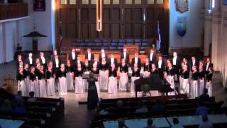 NNSU Choir - Vespers: Bogoroditse Devo [Sergei Rachmaninoff] (2012 World Choir Games - Musica Sacra)