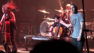 I Don't Care Live by Apocalyptica with Adam Gontier