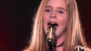 Country Girl Kadie Lynn, 12, Blows The Crowd Away | Judge Cuts 2 | America's Got Talent 2016 | Ep. 9