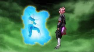 Vegeta Super Saiyan Blue VS Black Goku Super Saiyan Rose Only Fight Edited