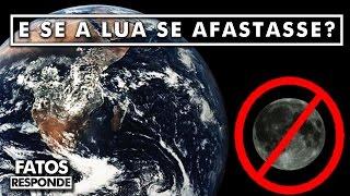 O que aconteceria se a Lua se aproximasse muito da Terra?