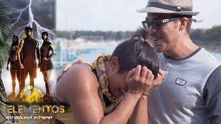 ¡Mónica rompe en llanto con video! | Mensaje sorpresa con Yurem | Reto 4 Elementos,  temporada 2