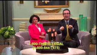 Calling The John Oliver Number From his Televangelist Segment
