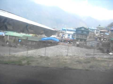 Taking Off at the Tenzing-Hillary Airport – Lukla, Nepal