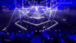Freaky Fortune feat. RiskyKidd - Rise Up (Greece) 2014 LIVE Eurovision Second Semi-Final