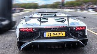 Lamborghini Aventador SV - BRUTAL LAUNCH CONTROL!