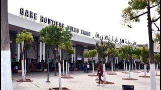 Casablanca: La gare Oulad Ziane reprend ses activités