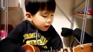 Coração olha eu cantando pra você a música I'm yours do Jason Mraz