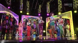 T-ara - Roly Poly (SBS Inkigayo 110710) Live HD
