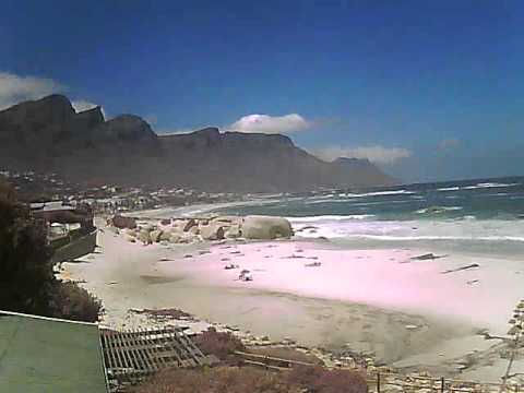 Timelapse Video – Glen Beach & Camps Bay – 30/01/2011