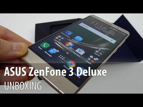 ASUS ZenFone 3 Delux (ZS570KL) Unboxing în Limba Română