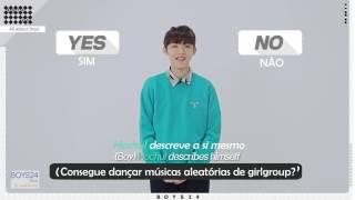 [Perfil BOYS24]  Tudo sobre os garotos - Episódio 05 Hocheol [LEGENDADO PT-BR]