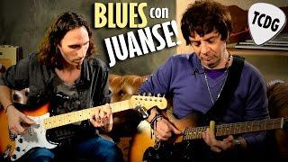Zapando Un Blues En Guitarra Con Juanse! (Ratones Paranoicos) TCDG