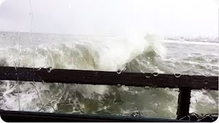Wave CRASHES Through Window | Ultimate Seafood Restaurant
