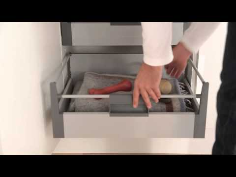 Pan drawer box deep upgrade