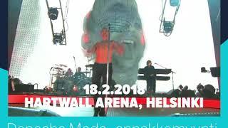 Depeche Mode | Helsinki Hartwall Arena 18.2.2018 | Amex ennakkomyynti 23.-25.8.2017