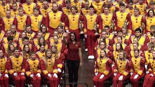 Iowa State University Marching Band -  I Can See For Miles/Happy Together (2017 Band Extravaganza)