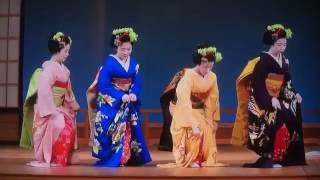 The Best Traditional Geisha Dance Show Kyoto in JAPAN