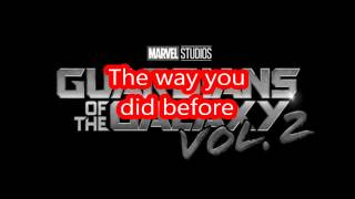 Fox On The Run/ (Sweet)/ (Lyrics)/ (Marvel: Guardians Of The Galaxy Vol.2)