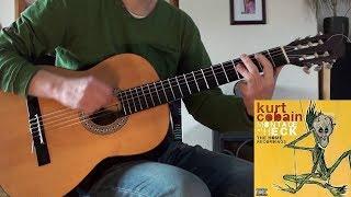 Kurt Cobain - And I Love Her (Guitar Cover)