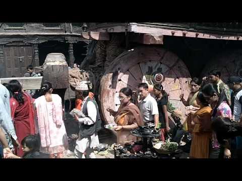 Prayer in Patan, Nepal(2)