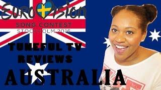 Eurovision 2016 - AUSTRALIA - Tuneful TV Reaction & Review