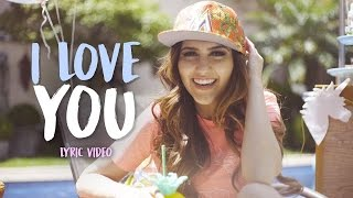 Sofia Oliveira - I Love You (letra)