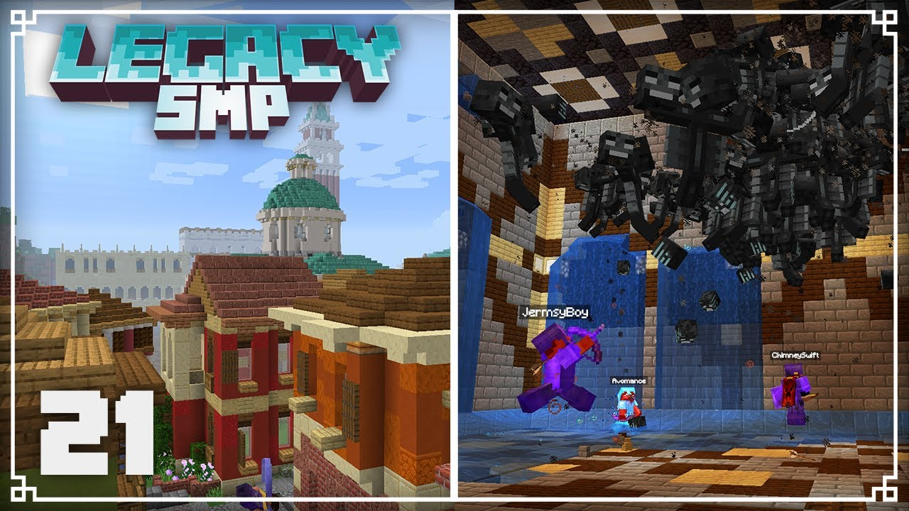 JermsyBoy - Legacy SMP | Fighting 260 withers & World Tour! |  Minecraft 1.16 Survival Multiplayer